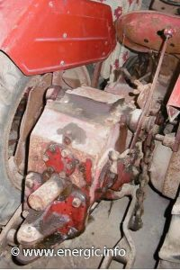 Energic tracteur 512 Diesel moteur. www.energic.info