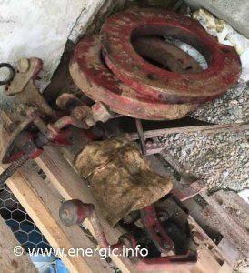 Energic 205 motoculteur moteur Bernard 110 bis www.energic.info