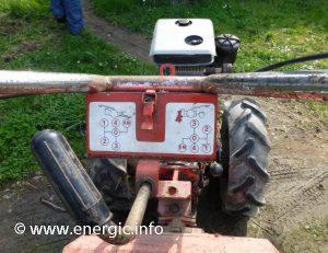 Energic motoculteur 350 Lombardini 7cv www.energic.info