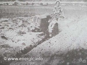 Energic motoculteur 409 plowing www.energic.info