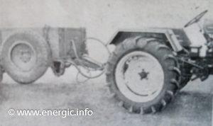 Energic Tracteur 519 towing remorque. www.energic.info
