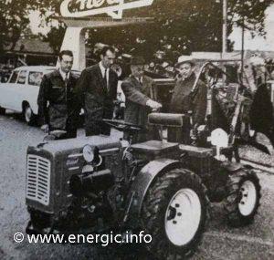 Energic 4-RM 18cv Slanzi engine 1963. www.energic.info