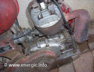 Energic 102 motoculteur Mono roue moteur VAP 48cc. www.eneric.info