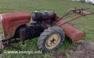 Energic 410 motoculteur diesel with rotivator www.energic.info