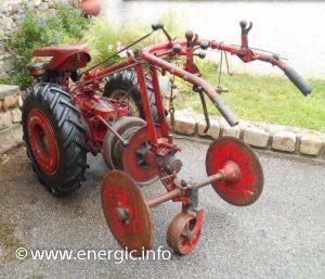 Energic Motoculteur 214 treuil rare. www.energic.info