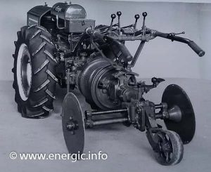 Energic motoculteur 409 9cv Treuil.www.energic.info