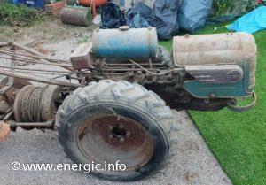 Energic motoculteur 409 9cv Treuil. energic.info