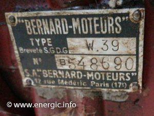 Energic motoculteur 114 plaque. www.energic.info