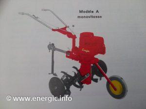 Energic Rubis Briggs & Stratton 3.5 or 5cv in model A form. energic.info