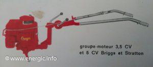 Energic Rubis Briggs & Stratton 3.5 or 5cv.