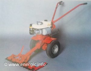Energic Motobineuse Type L 85. www.energic.info