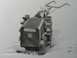 Energic motoculteur C7 with adjustable handlebars. www.energic.info