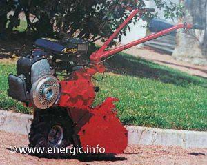Energic Motobineuse R.A.M. 7 mono roue.  energic.info
