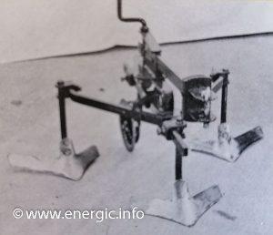 Energic motoculteur 137, culture mairaichere or lignes. energic.info