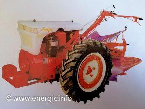 Energic 318 motoculteur diesel. energic.info