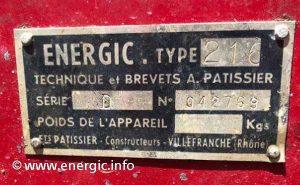 Energic motoculteur 216. www.energic.info
