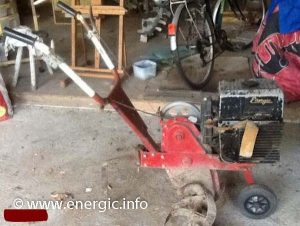 This looks like a Energic Motoculteur L 218. energic.info