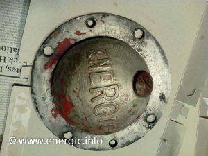 Energic motoculteur D9 S bloc cleaned outer hub cap. www.energic.info