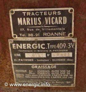 Energic motoculteur 409 9cv  3v. www.energic.info