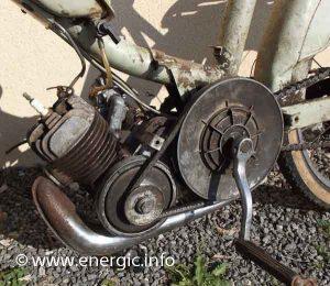 Energic 102 motoculteur Mono roue moteur VAP 48cc. www.energic.info
