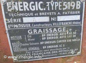 Energic petrol 519b vigneron www.energic.info