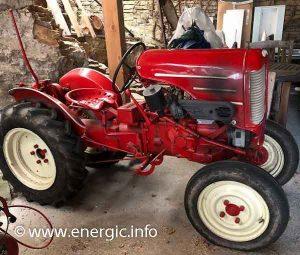 Energic Tracteur 511 mark 1 petrol. www.energic.info